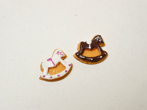 Rocking Horses Cabochons Set