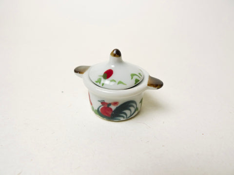 Rooster Clay Pot (26mm)