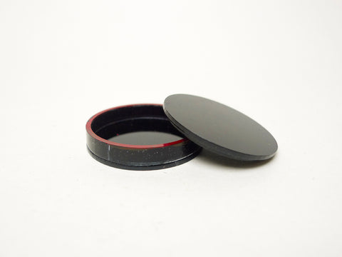 Round Sushi Tray with Cover (39mm)