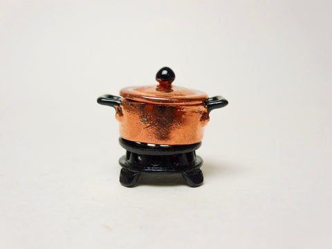 Soup Pot with Stove (Copper)