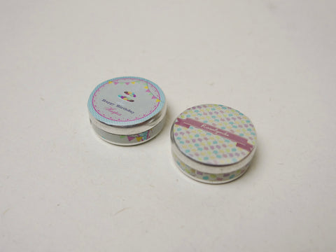 Cookie and Macaron Tin Set