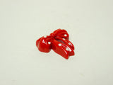 Red Polka Dots Ribbon Cabochon