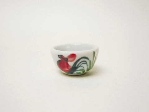 Rooster Bowl Hand-painted (17mm)
