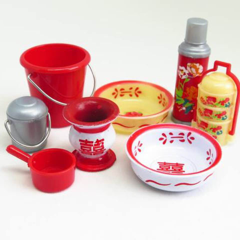 Traditional Chinese Wedding Dowry Set