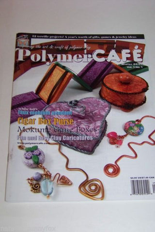 Beads & Jewelry Making Sculpting, Molding & Ceramics Polymer Cafe Magazines