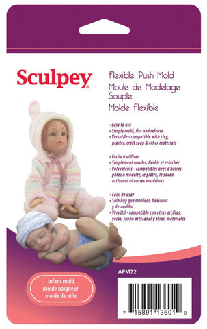 Sculpey Push Mold - Infant