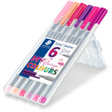 STAEDTLER Triplus Color 6 My Flamingo Colours 1.0mm