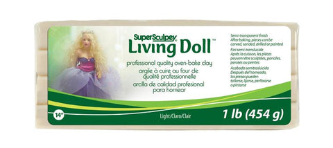 Super Sculpey - Living Doll (Beige)