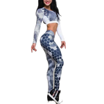 Tracksuit Fitness Yoga Sets Honeycomb