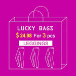 Lucky Bag 3pcs Big Surprise Printed Women Leggings S-XL Send Randomly