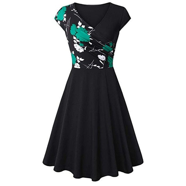 Party Dress Elegant Floral