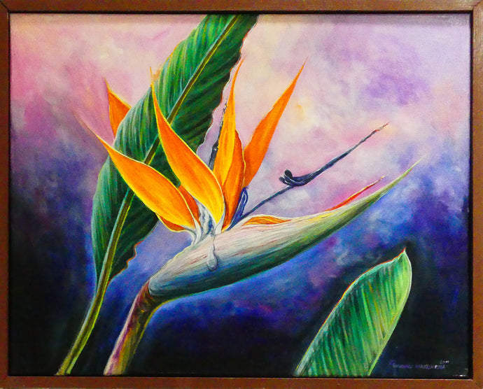 BIRD OF PARADISE   - Original 16