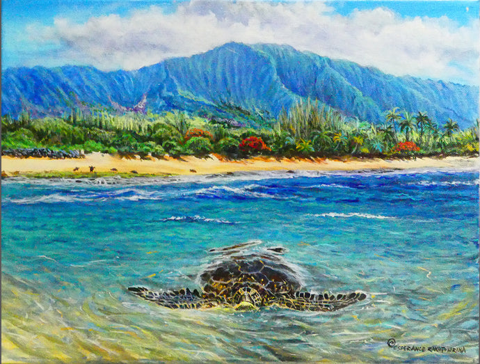 LANIAKEA TURTLE- Original 11