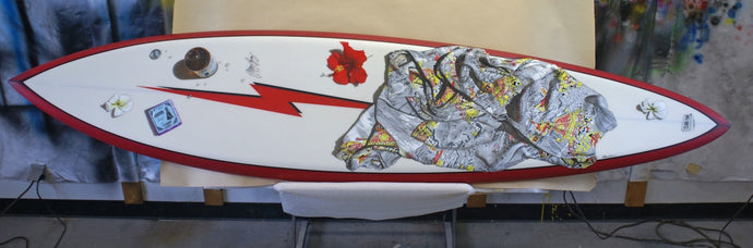 THE PIPELINER - Original Lightning Bolt Surfboard