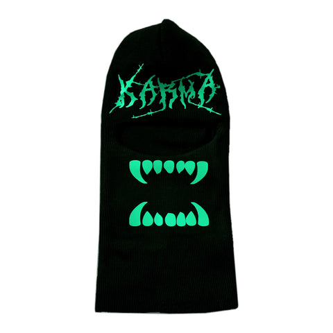 Glow in the Dark Karma Ski Mask