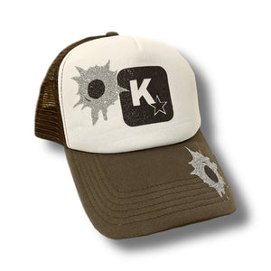 K- Star Bullet hole Trucker Hat