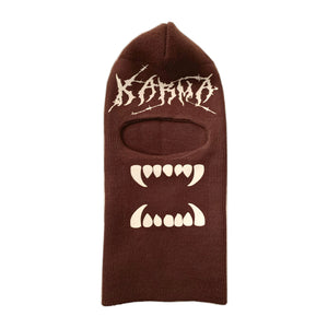 Mocha Brown Ski Mask