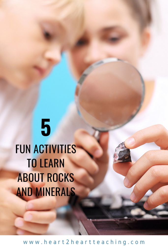 5 Activities to Learn About Rocks and Minerals