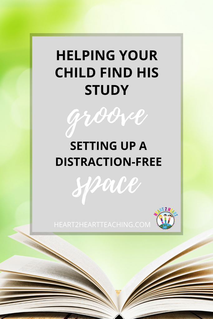 How to Help Your Child Find His Study Groove: Setting Up a Distraction-Free Space