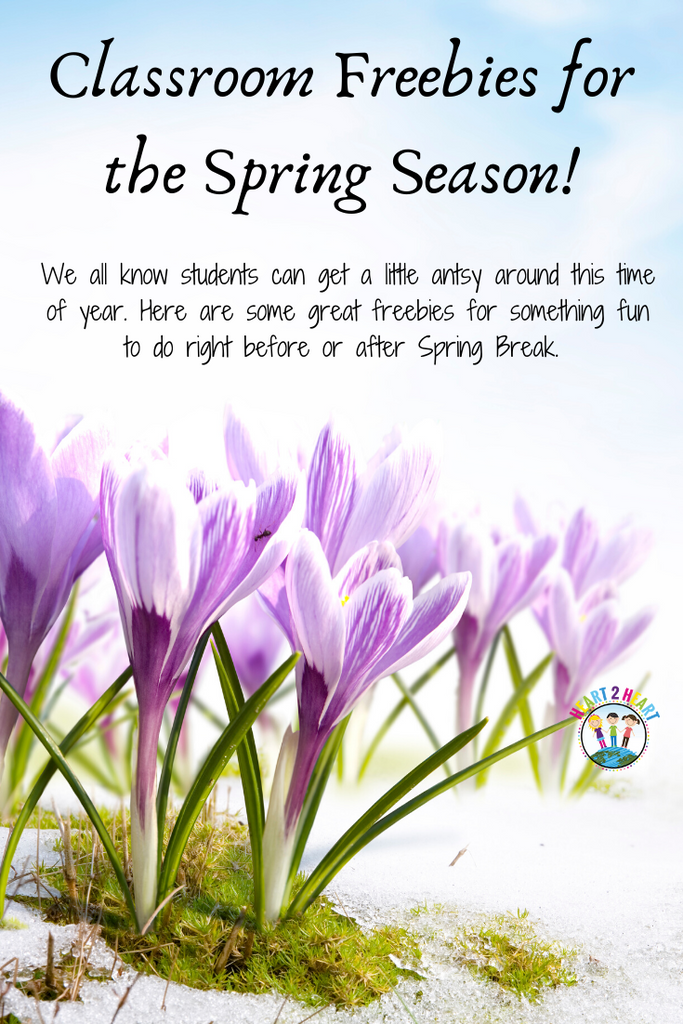 Classroom Freebies for the Spring Season