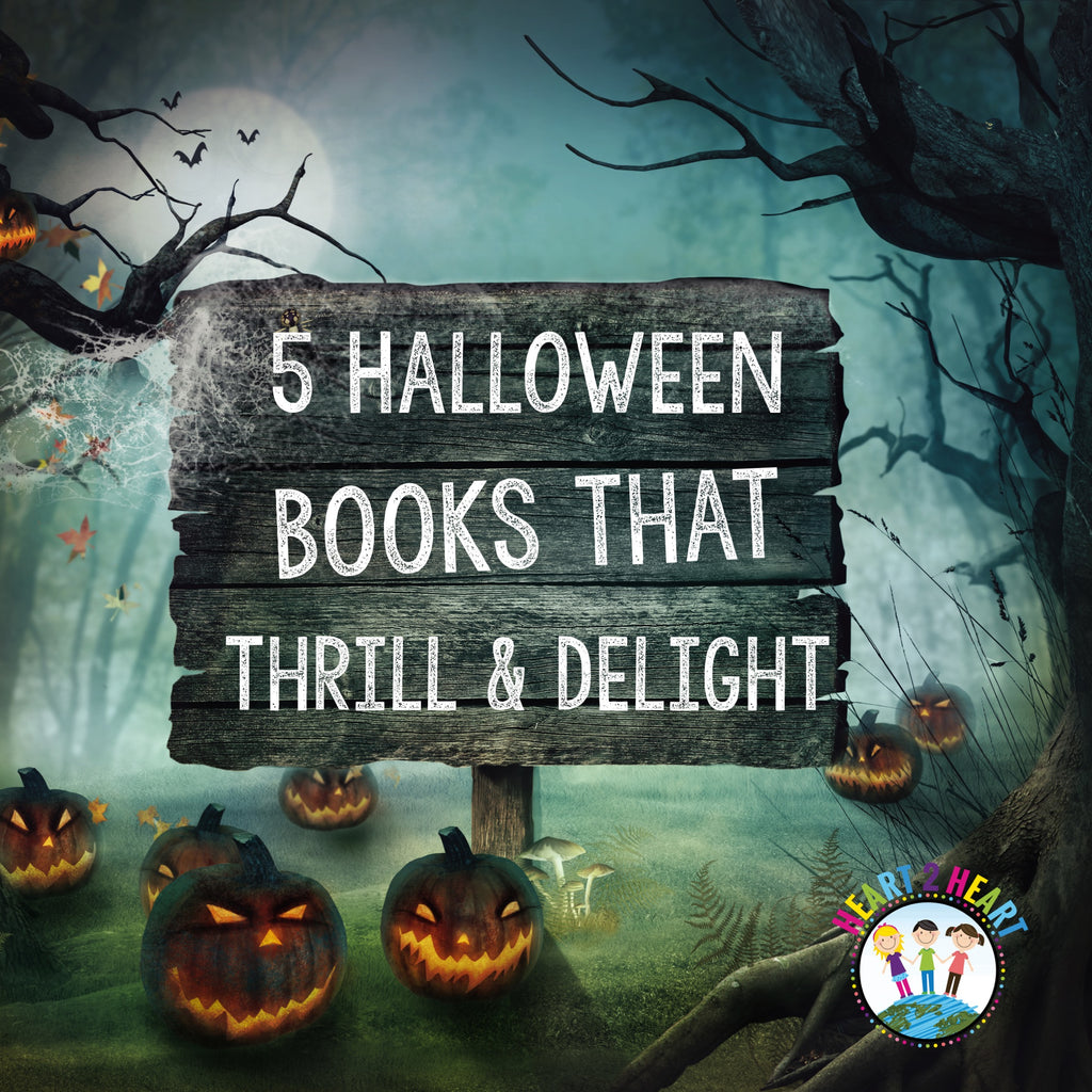 5 Halloween Books That Will Thrill and Delight Kids of all ages