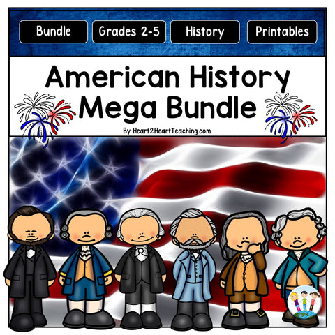 American History activities and lessons for kids