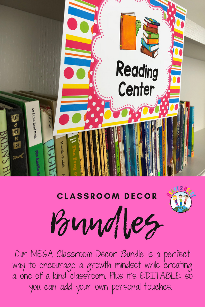 classroom reading centers for elementary teachers