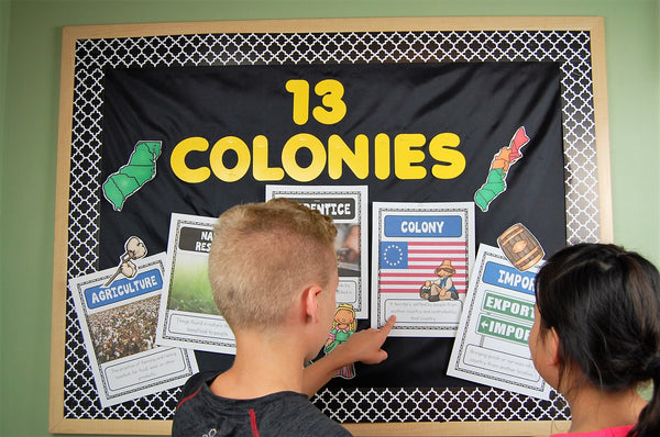 13 Colonies Activities for Kids
