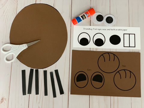 Groundhog Day Craft Project and Activities for Kids