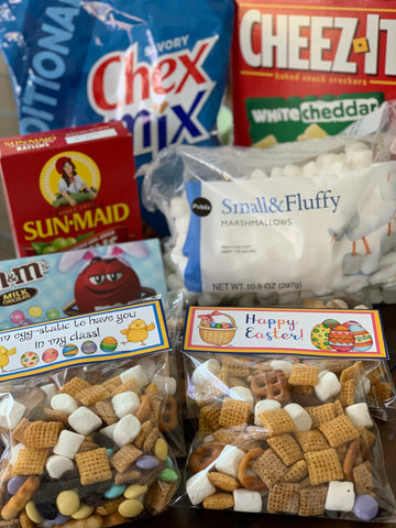 Chex Trail Mix Treat Bags