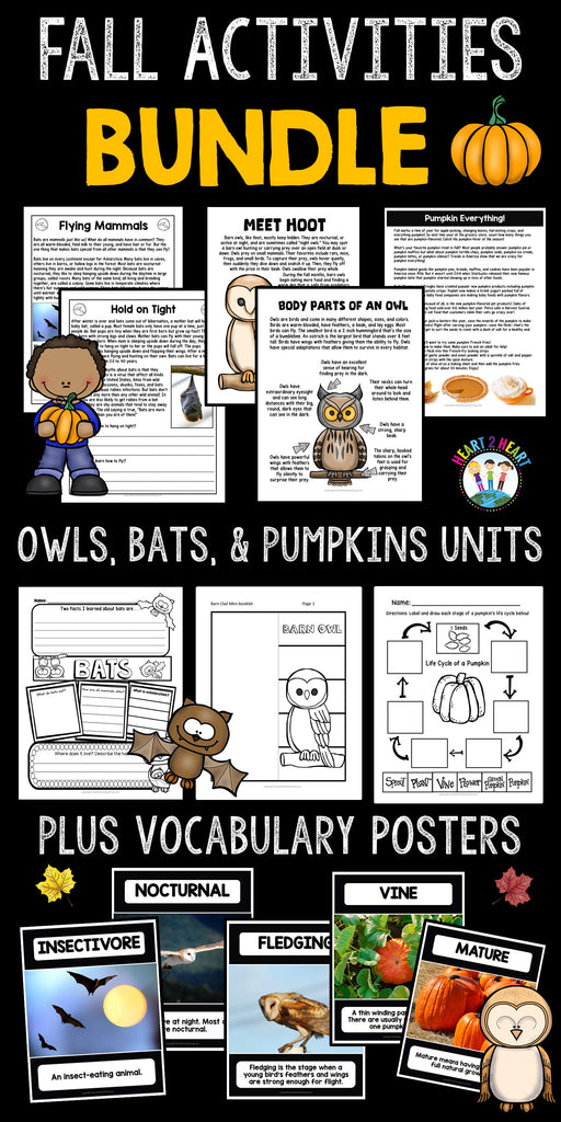 Fall Activities Bundle for Kids Pin