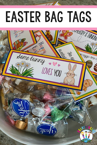 Easter Treat Bag Tags