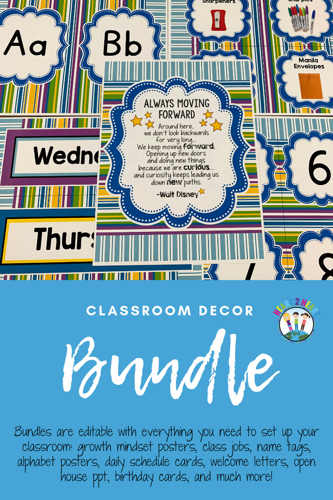 classroom decor bundles for teachers
