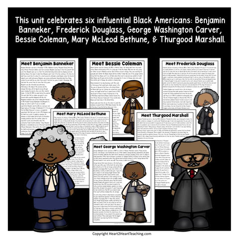 Black History Month Activity Bundle for Kids