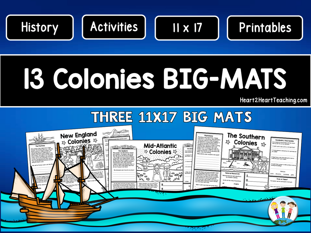 13 Colonies BIG-MATS® are FUN in a BIG Way!