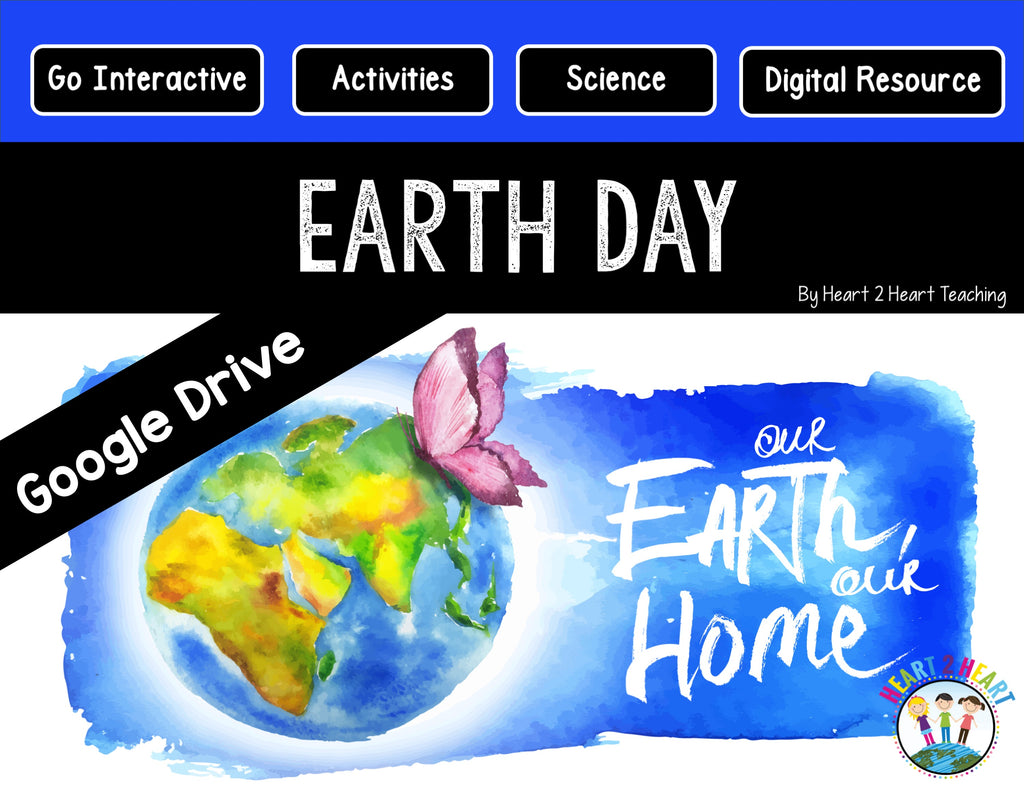 Earth Day for the Google Classroom Digital Resource