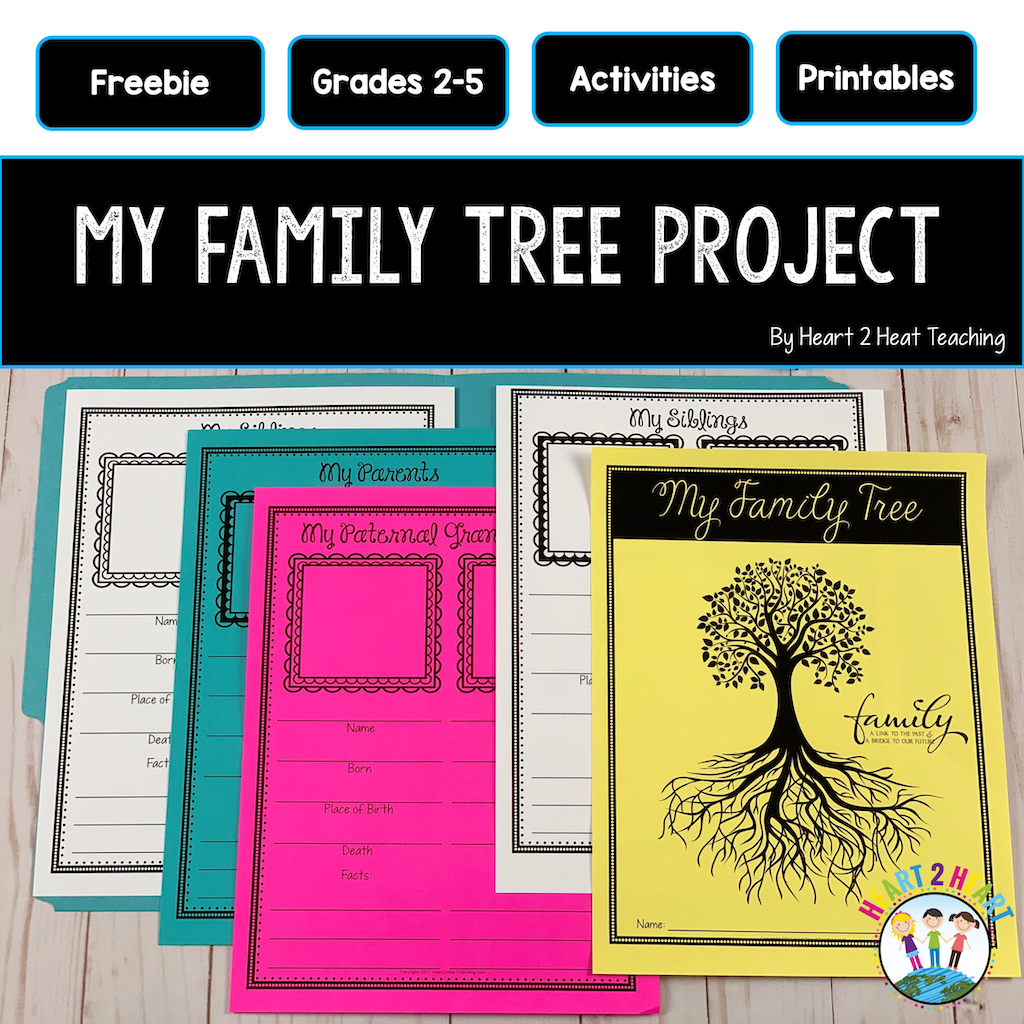Family Tree Project Freebie