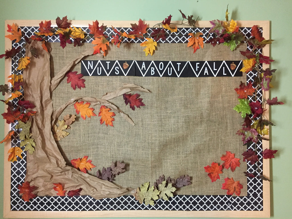 Nuts for Fall Bulletin Board Kit Freebie