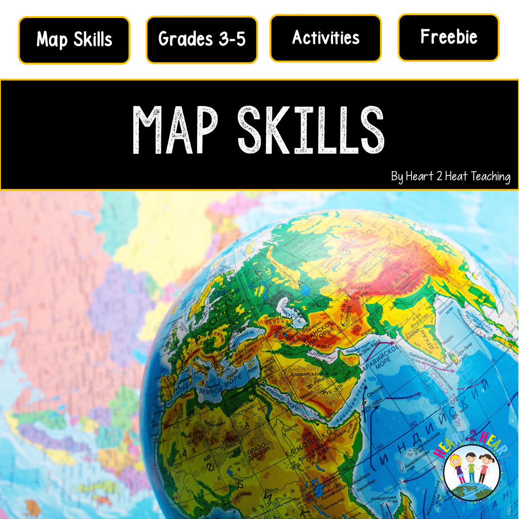 Beginning Map Skills Freebie For Kids
