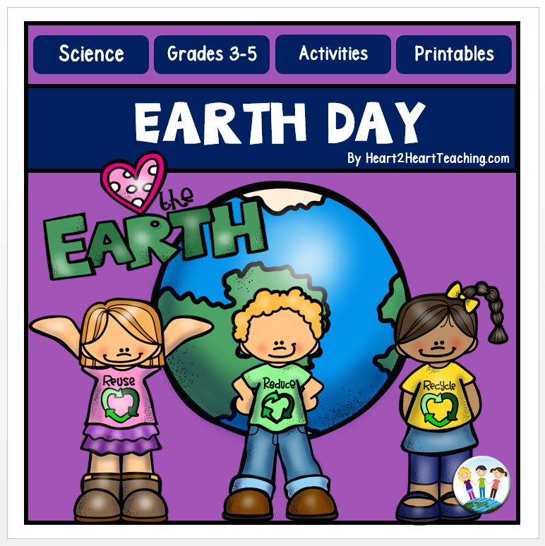 Earth Day Activities Freebie