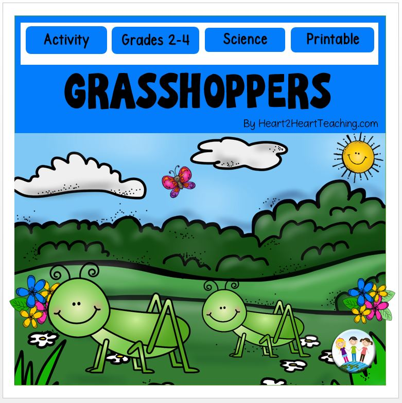 Grasshoppers: A Non-Fiction and Literacy Unit