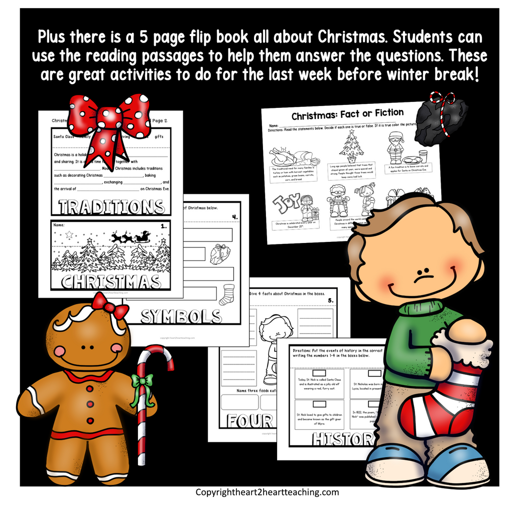 Christmas Activities with Scavenger Hunt and Letter to Santa