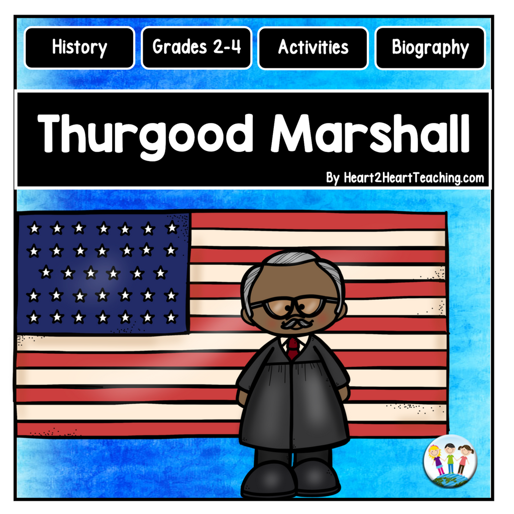 The Life Story of Thurgood Marshall Activity Pack
