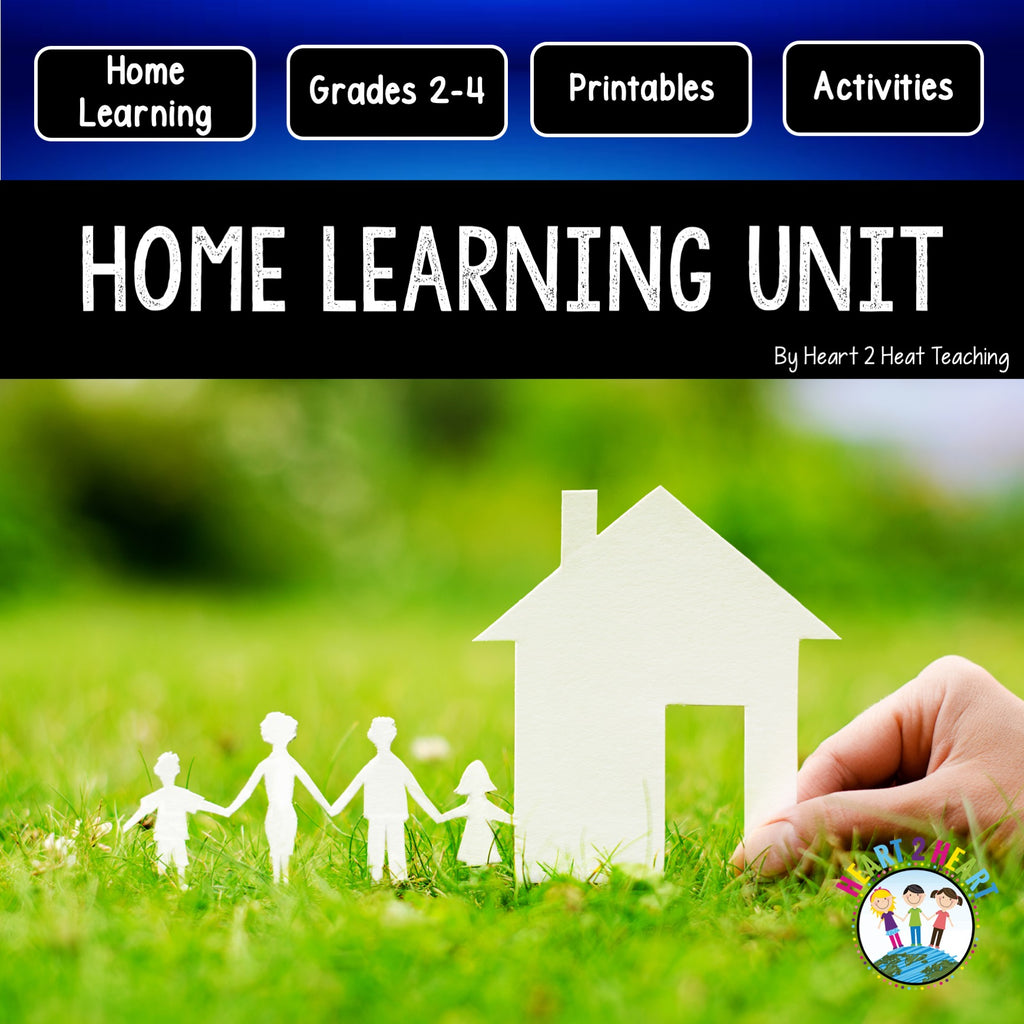 Home Learning Unit Freebie