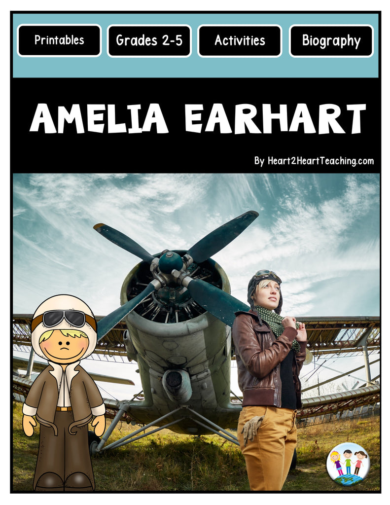 The Life Story of Amelia Earhart Freebie