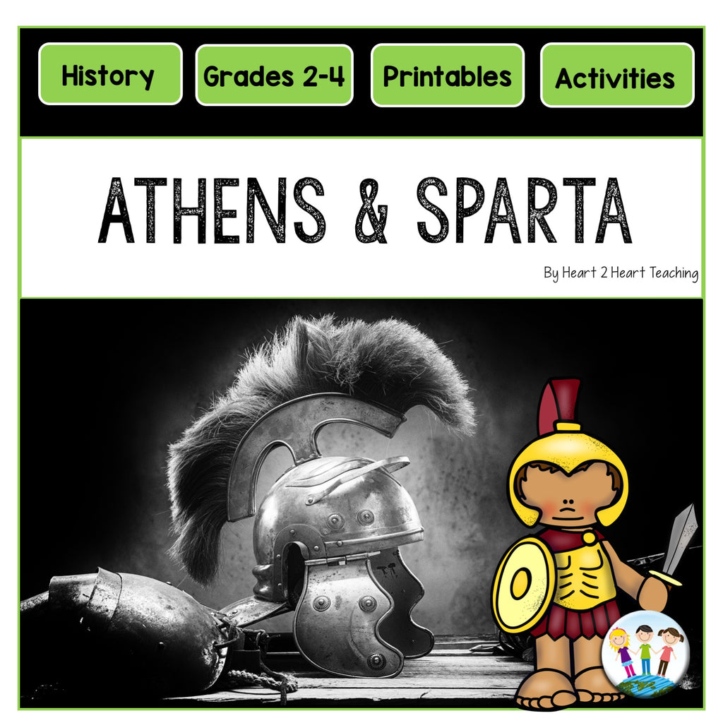 Daily Life in Athens and Sparta Unit: Compare and Contrast Passages and Activities