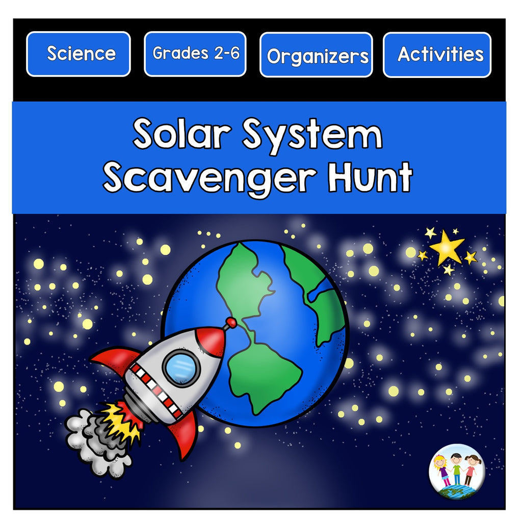Let's Go on a Scavenger Hunt to Learn About Our Solar System