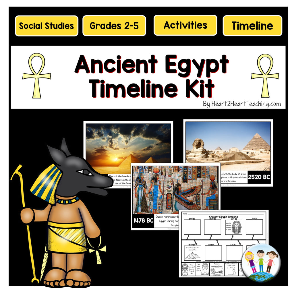 Ancient Egypt Timeline & Bulletin Board Kit