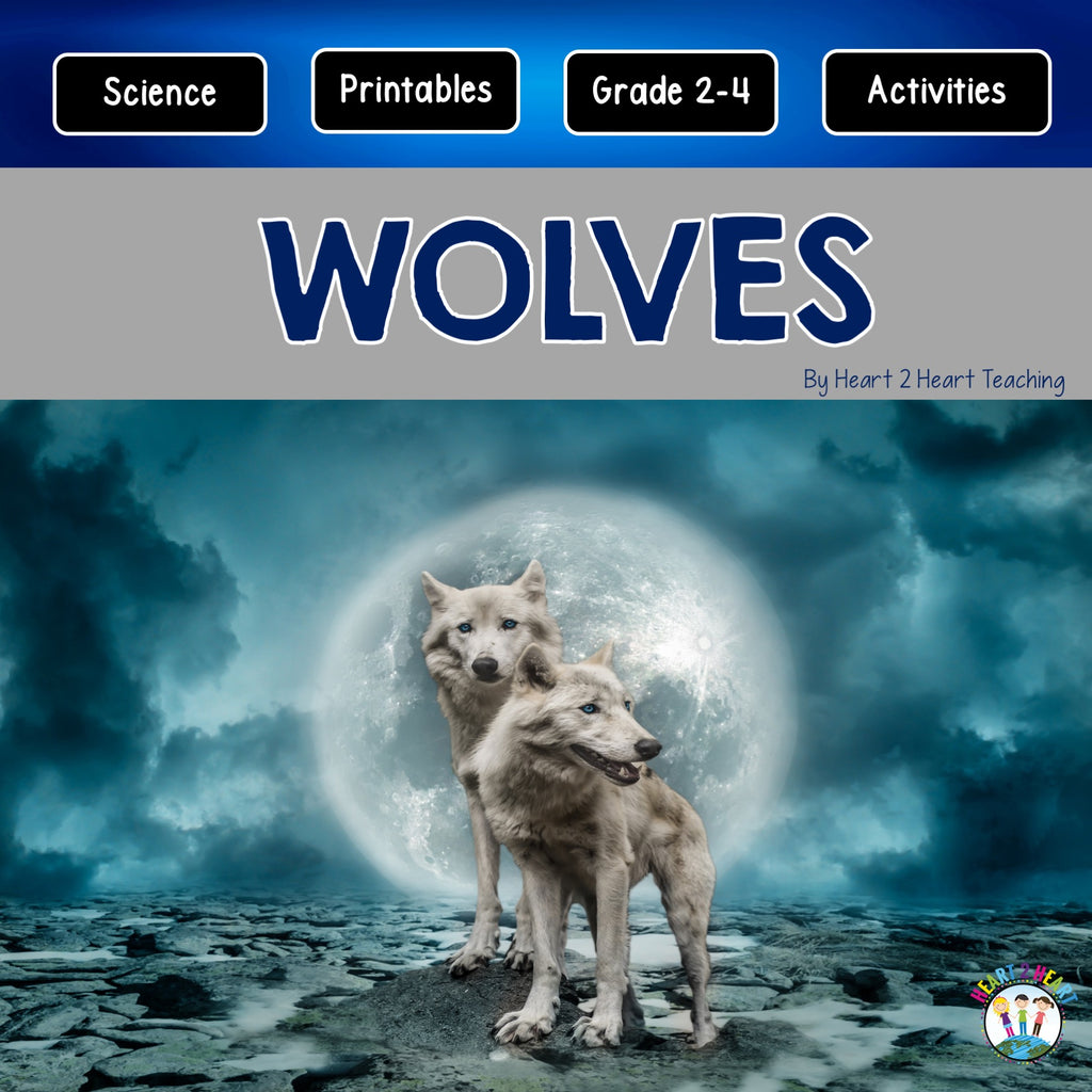 All About Wolves Unit
