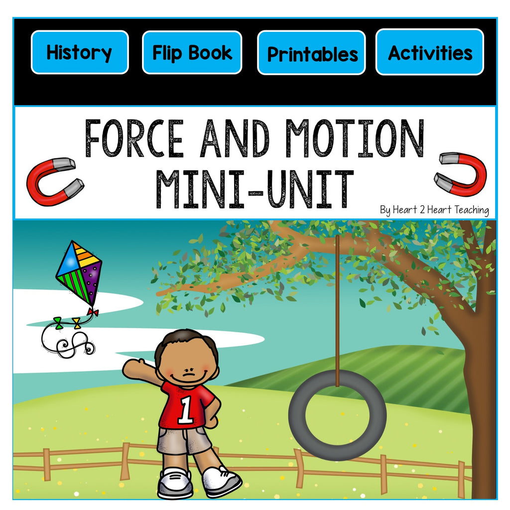 Force and Motion Mini-Unit & Flip Book